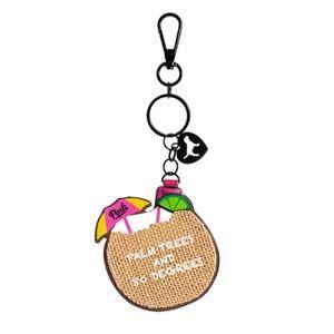 PINK Victoria's Secret Vacay Charm Keychain